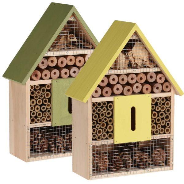 Insektenhaus Insektenhotel Holz 30cm Brutkasten Nistkasten Bienen