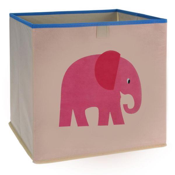 Kinder Aufbewahrungsbox Elefant 32cm Faltbar Spielzeugkiste Organizer