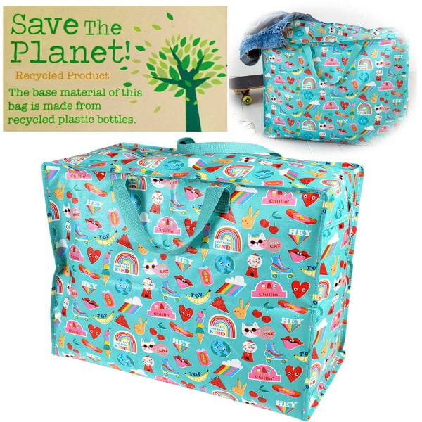 XXL Jumbo Bag Banana 55cm Allzweck-Tasche Recycled Einkaufstasche