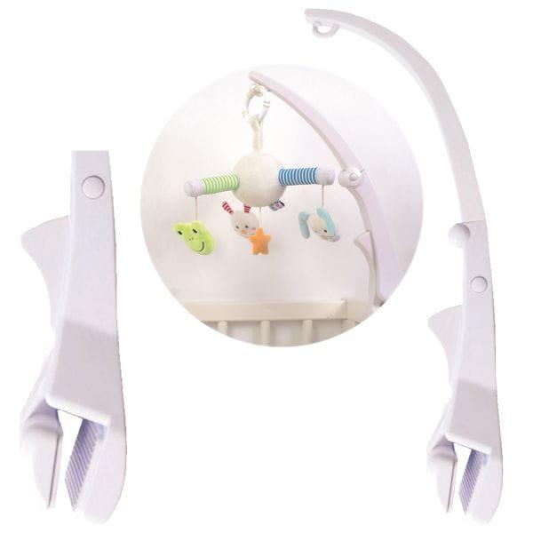JaBaDaBaDo Mobile-Arm Weiß N0095 Mobile Halter Halterung Baby-Bett